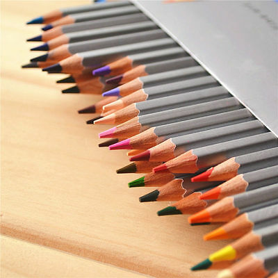 Marco Colored Pencils Set Student Office Art Craft 72Pc 72Colors Sketch Drawing