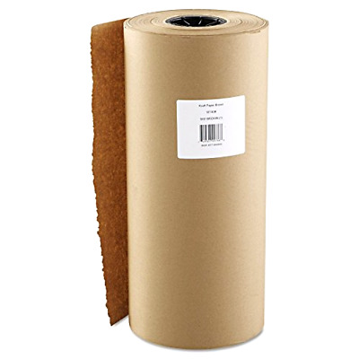 Boardwalk 18 In x 900 Ft Kraft Paper Roll, Brown