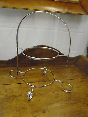 Fabulous Antique / Vintage 1920s Selfridge's Silver Plated Cake Stand - Art Deco