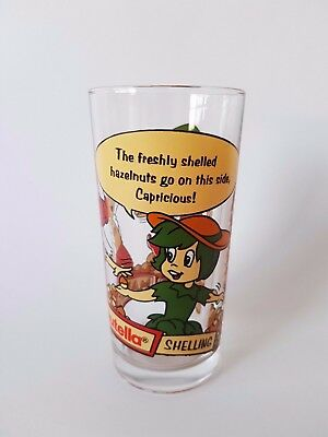 1995 Collectable Promo Nutella Glass Stage 3 Making Nutella Shelling Capricious