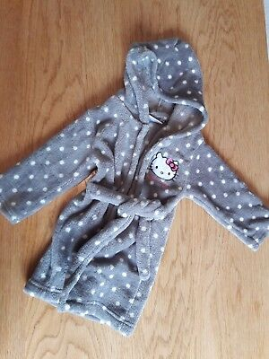 Robe de chambre Hello Kitty, fille 2 ans