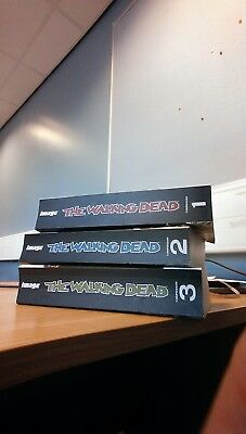 The Walking Dead Compendium Vol 1, 2 & 3 - Graphic Novel - Great Condition