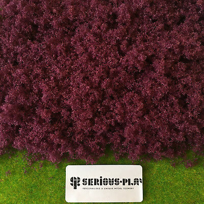 Purple Fine Leaf Foliage - Model Scenery Railway Terrain Scatter Wargame Flowers