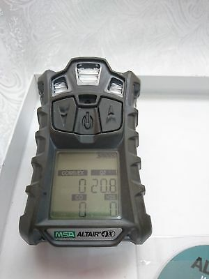 Calibrated MSA Altair 4X Multigas Detector (LEL, O2, CO, H2S) + Charger