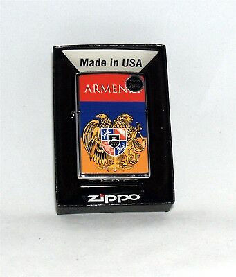 Zippo Lighter Custom Design Armenian Armenia Flag Free Shipping #1