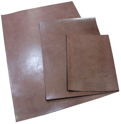 Full Grain Vegetable Tanned A2~A4 Tooling Leather Brown Leathercraft 6oz 2.5mm