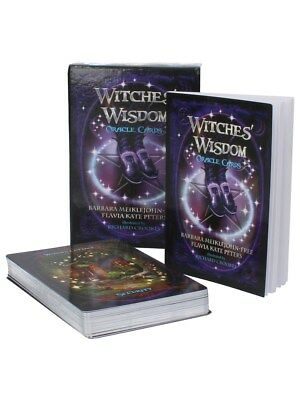 Witches' Wisdom Oracle Cards Tarot Cards