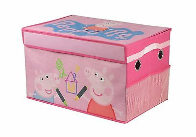 Peppa Pig Collapsible Storage Trunk Soft canvas material 14x22x14""