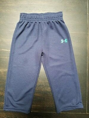 Under Armour toddler Boys 18 month Athletic Pant-Blue