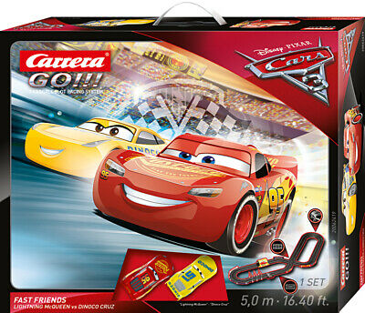 Carrera GO!!! Disney/Pixar Cars 3 Fast Friends Set / Grundpackung 62419
