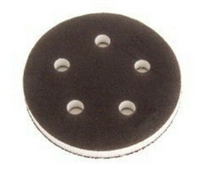 "Mirka 1055F 5"" 5 Hole Grip Faced Firm Interface Pad, Qty. 1ct"