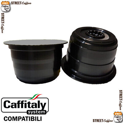 300 Cialde Capsule Caffe Street Coffee Strong Compatibile Caffitaly Caffè Italy