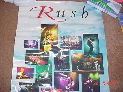 Rush Test for Echo CD release promo poster RARE!