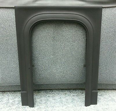 Antique Cast Iron Fireplace Mantle Surround