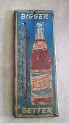Pepsi Cola double dot thermometer