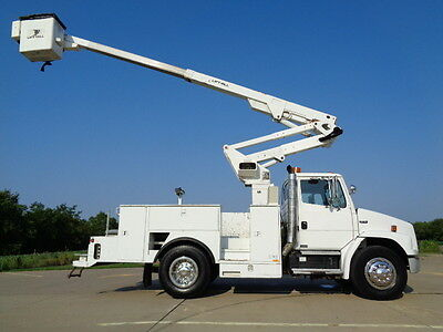 03 46' Bucket Truck Boom Basket Lift Aerial Utility Service Lift-All AC