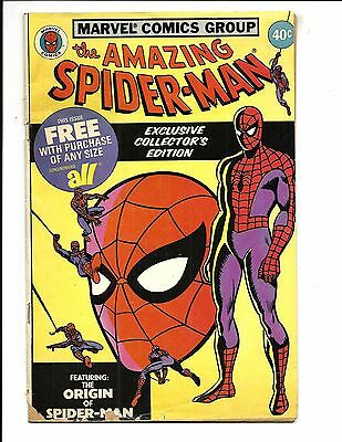AMAZING SPIDER-MAN (RARE All Detergent Promo Comic, 1979), GD/VG