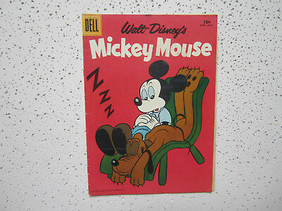 Dell Comics With Walt Disney's Mickey Mouse # 60 June - July 1958