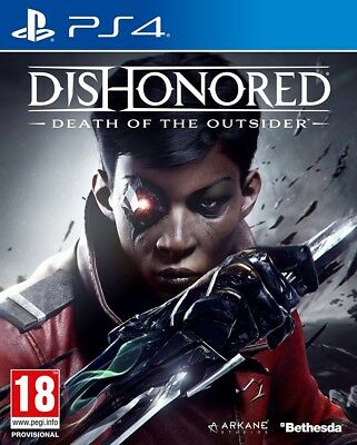 Dishonored Death of the Outsider PS4 (PlayStation 4) NEW & Sealed