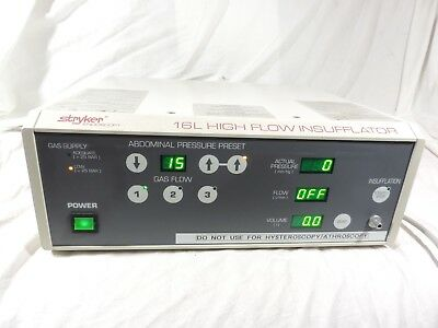 Stryker 16L High Flow Insufflator 620-030-300 F16-342250
