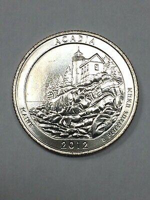 2012 P&D -  Acadia National Park Quarter Dollar Set