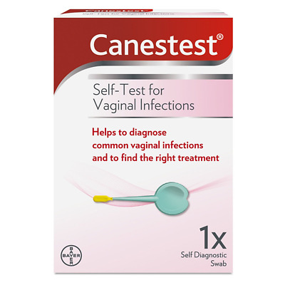 Canesten Canestest Thrush & BV Screening Test - Reliable Fast Self Test Kit