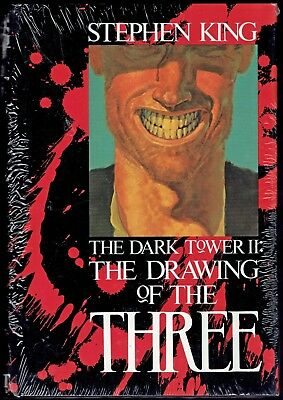 1987 - DARK TOWER II: THE DRAWING OF THE THREE - STEPHEN KING - 1st ED - SEALED!