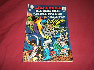 Justice League of America #55 (Aug 1967, DC) silver age 7.0/7.5 comic!!!!