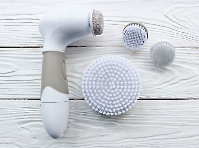 NEW Spin Brush For Perfect Skin Face Body Cleansing !!! [ 9 ATTACHMENTS  ] !!!