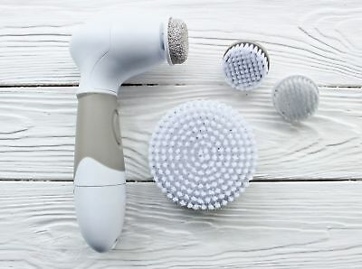 NEW Spin Brush For Perfect Skin Face Body Cleansing FREE POST