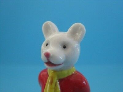 "WADE ADORABLE RUPERT THE BEAR & FRIENDS FIGURINE 2.5"" WITH COA SO NICE *Mint*"