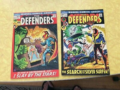 The Defenders #1 & #2. Key Issues. See !!!!!