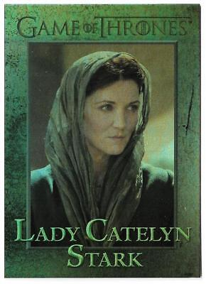 2012 Game of Thrones Season 1 Foil Parallel Card #58 Lady Catelyn Stark