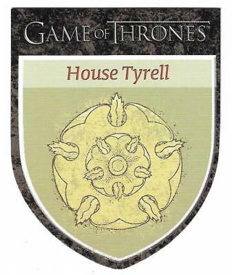 """2012 Game of Thrones Season 1 The Houses H8  House Tyrell """"Growing Strong"""""""