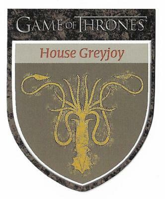 """2012 Game of Thrones Season 1 The Houses H9  House Greyjoy """"We Do Not Sow"""""""