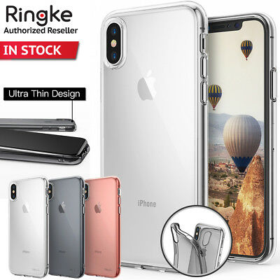 iPhone X XS Case For Apple Genuine RINGKE Air Soft Flexible Shock-Proof Cover