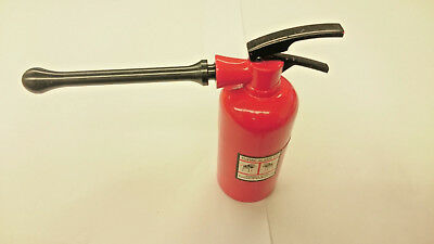 New Fire Extinguisher Shape Zinc Alloy 3 Layers Tobacco Spice Herb Tea Grinder