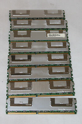 32GB Memory for Dell 2950 (8 pcs x 4Gb) 2Rx4 PC2-5300F ECC DDR2-667 RAM