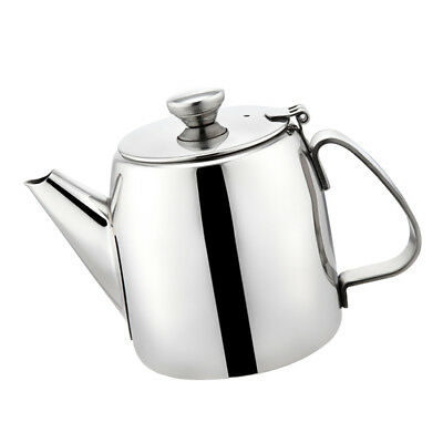 Stainless Steel 500ml Teapot Water Kettle Pitcher Jug Coffee Pot Silver