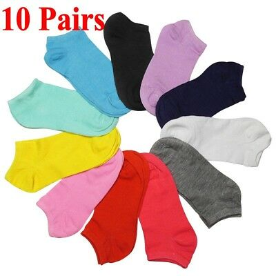 Low Cut 1 5 10 Pairs Short Socks Cotton Women Ankle Candy Color Boat Socks Gift