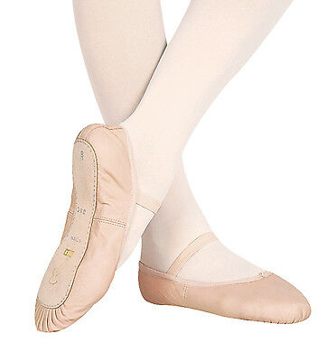 NIB Bloch Dansoft #S0205 Full Sole Ballet Shoes, Youth/Adult, PINK