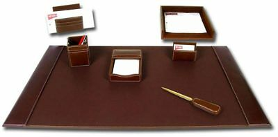 DACS-D3204-d3204-rustic-brown-leather-7-piece-desk-set
