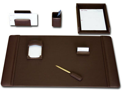 DACS-D3404-d3404-chocolate-brown-leather-7-piece-desk-set