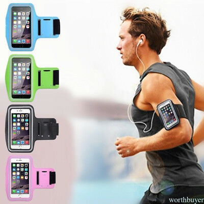 For iPhone 7 plus Running Sport Workout Armband Exercise Phone Case Cover SM9