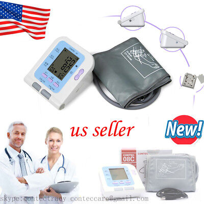 US Automatic Digital Arm Blood Pressure Monitor & Heart Beat Rate Pulse,software