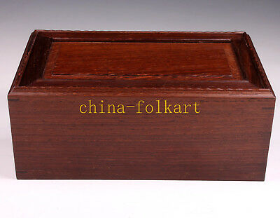 Wooden Box Chinese Tradition Decorated Handicraft Collection