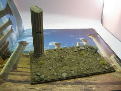 Reality In Scale 1:35 The Desert 16.5X11.8cm - Resin Diorama Base #35105