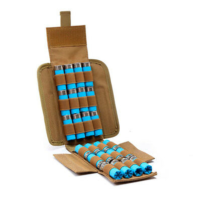 For Hunting Ammo Bags Molle 25Shotgun Shell 12G Reload Pouches Holder Bullet Bag