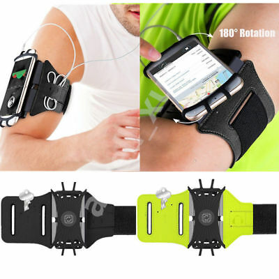 Sport Running Armband Arm Band for Apple iPhone 7 8 6 6S Plus 5S 5+ Earphones