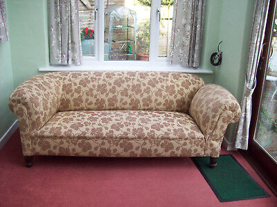 Antique  Chesterfield Settee